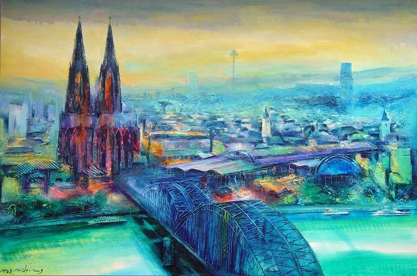 Köln Bilder Gemalt
